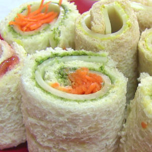 Sandwich Rollups Bread Sushi
