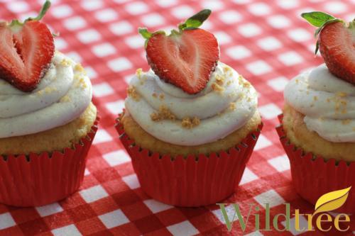 Gluten Free Very Berry Cheesecake Cupcakes