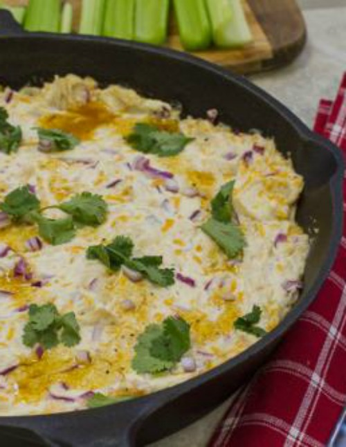 Golden-BBQ-Chicken-Dip