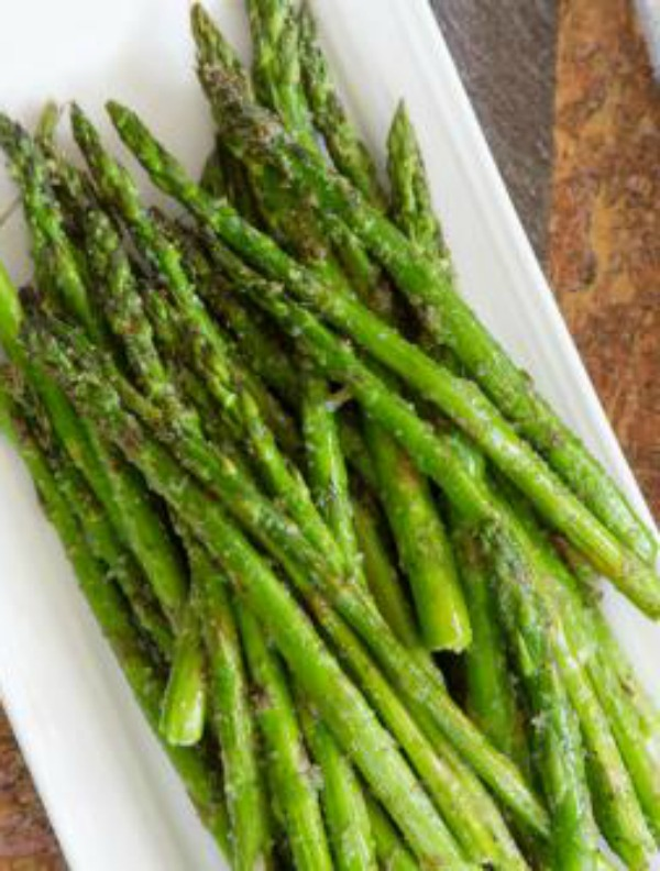 Grilled Greek Asparagus