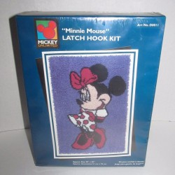 Minnie Mouse Latch Hook Kit