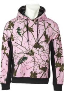 Pink Camo Forest Pullover Hoodie Sweatshirt Long Sleeve