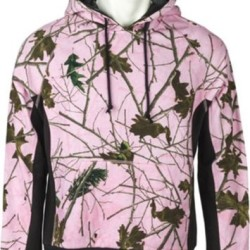 Pink Camo Forest Pullover Hoodie Sweatshirt Long Sleeve