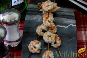 herb grilled shrimp